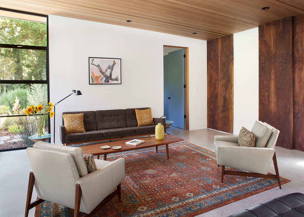 Mid-century-furniture-living-room-midcentury-with-recessed-lighting-oriental-rug-recessed-lighting-2
