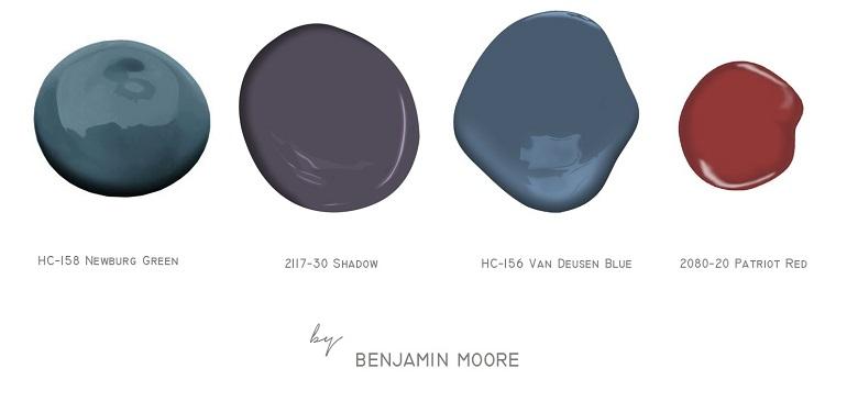 Benjamin Moore kolory 770